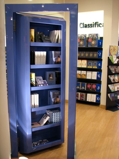 Il porta porta libreria contenitiva - Libreria con porta ...