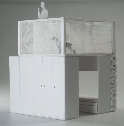 Leonardo - cabina armadio/soppalco
